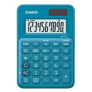 Calculadora Casio MS-7UC-BU
