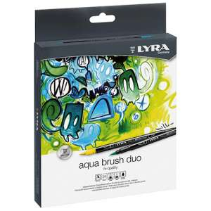 Aqua Brush duo 24 col.