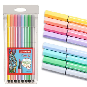Stabilo Pen 68 Color Pastel