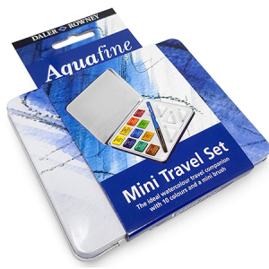 Aquafine Mini Travel 10 col. Daler Rowney