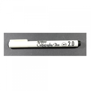 Lápiz Calligraphy Pen 2.0 Artline