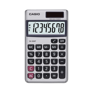 CALCULADORA SX-300P CASIO