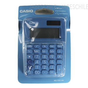 CALCULADORA MS-7UC-BU CASIO