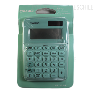 CALCULADORA MS-7UC-GN CASIO