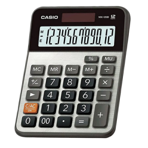 Calculadora Casio MX-120B