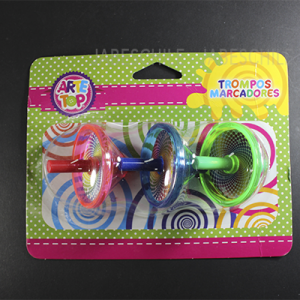 SET SPIN FUNNY ARTE TOP