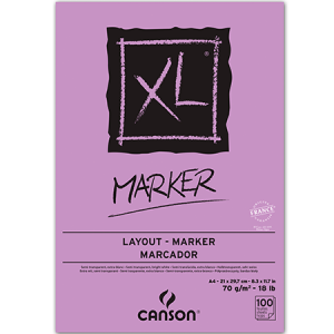 Pad XL Marker A4  Canson 70grs.