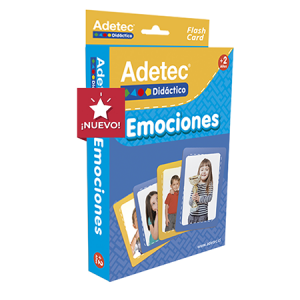 Flash Cards Emociones Adetec